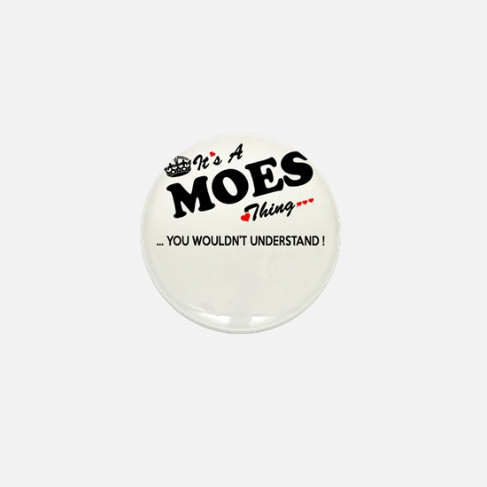 Cute Moe Mini Button