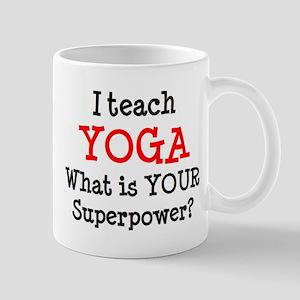 teach yoga Mug