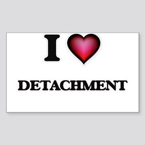 I love Detachment Sticker