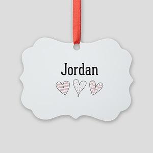 Jordan Picture Ornament
