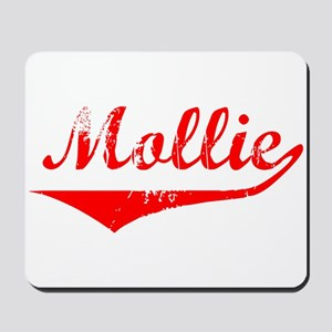 Mollie Vintage (Red) Mousepad