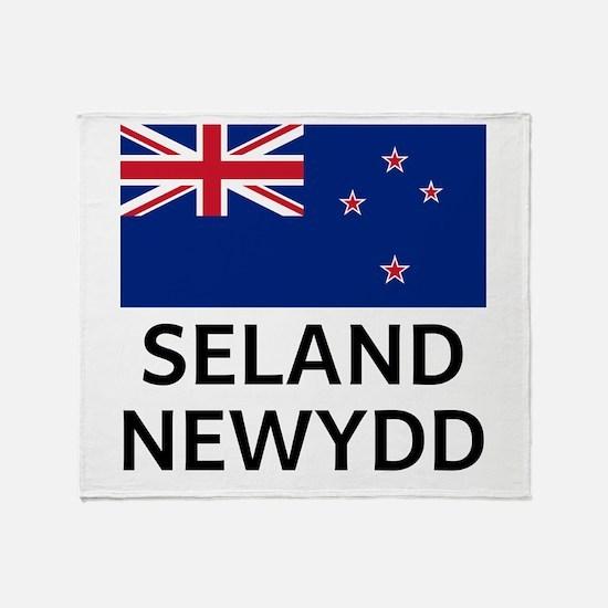 Seland Newydd Throw Blanket
