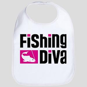 Fishing Diva Bib