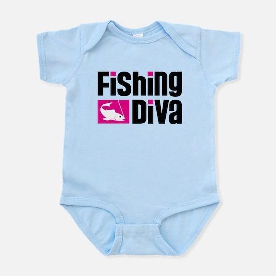 Fishing Diva Infant Bodysuit