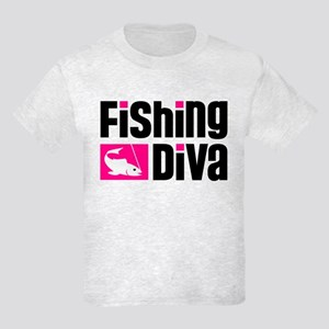 Fishing Diva Kids Light T-Shirt