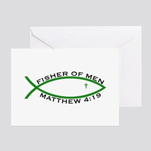 Fisher (GRN) - Greeting Card