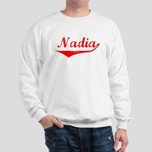 Nadia Vintage (Red) Sweatshirt