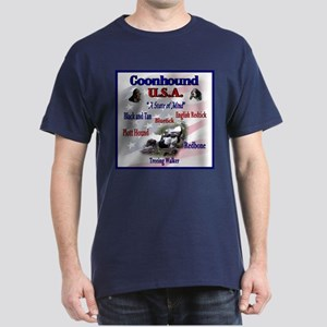 Coonhound USA Dark T-Shirt
