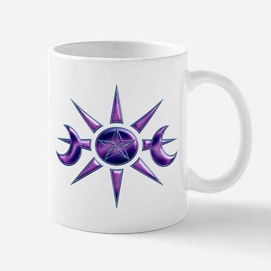 Purple & Blue Pentacle Mug