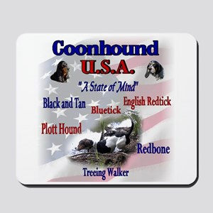 Coonhound USA Mousepad