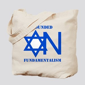 Founded On Fundamentalism Tote Bag