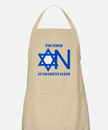 Founded On Fundamentalism BBQ Apron