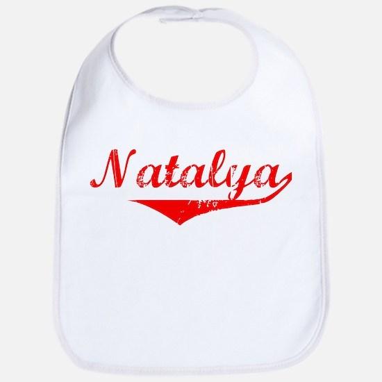Natalya Vintage (Red) Bib