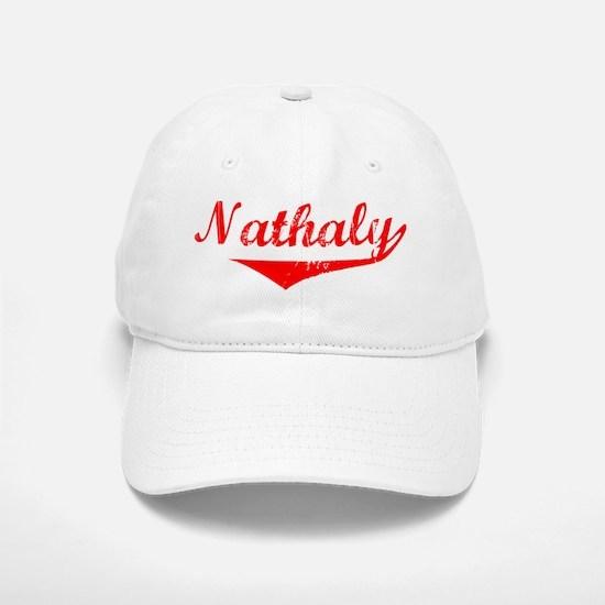 Nathaly Vintage (Red) Baseball Baseball Cap