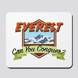 Conquer Everest Mousepad