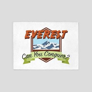 Conquer Everest 5'x7'Area Rug