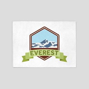 Mount Everest 5'x7'Area Rug