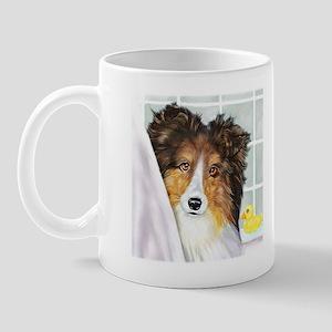 Sable Sheltie Bath Mug
