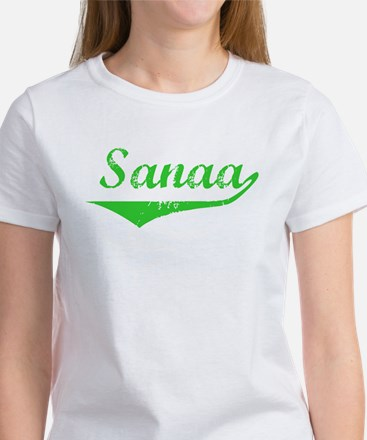 Sanaa Vintage (Green) Women's T-Shirt