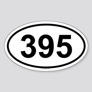 395 Oval Sticker