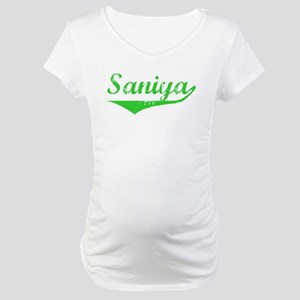 Saniya Vintage (Green) Maternity T-Shirt