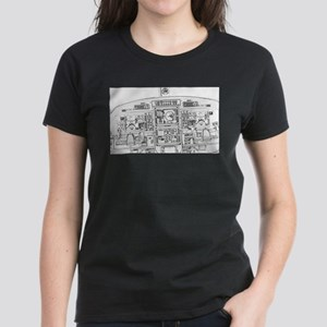 Airplane Instrument Panel Sketch T-Shirt