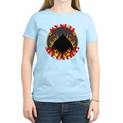My Nuts Are On Fire Women's Light T-Shirt