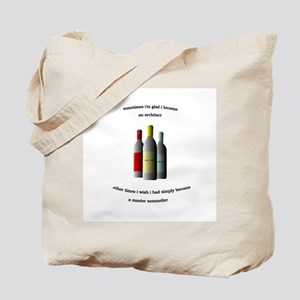 Architect Sommelier Tote Bag