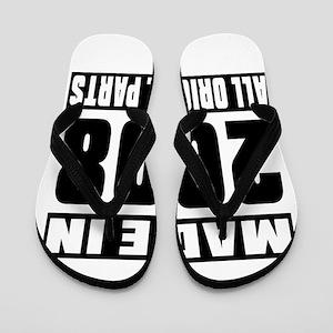 Made In 2008 Flip Flops