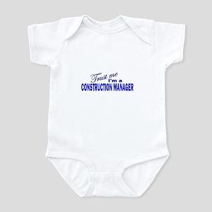 Trust Me I'm a Construction M Infant Bodysuit