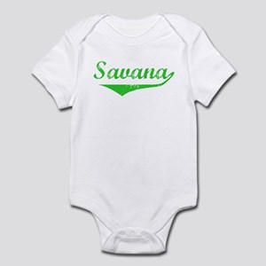 Savana Vintage (Green) Infant Bodysuit
