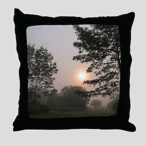 Peekin' Through Throw Pillow