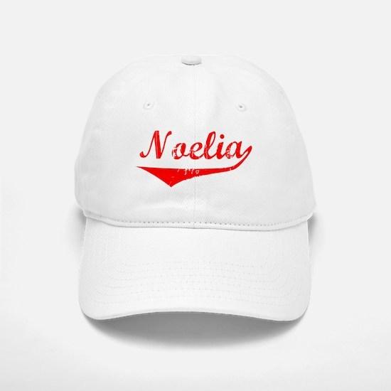 Noelia Vintage (Red) Baseball Baseball Cap