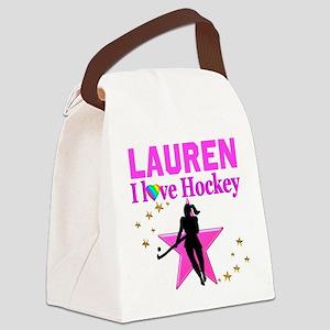 FIELD HOCKEY Canvas Lunch Bag