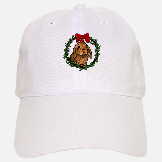 Christmas Rabbit Baseball Baseball Cap