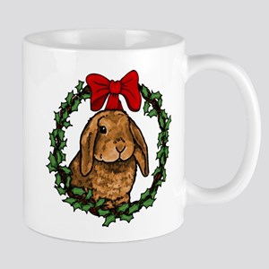 Christmas Rabbit Mug