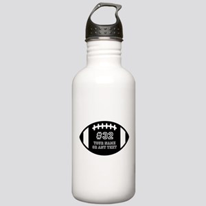 Custom Football Name N Stainless Water Bottle 1.0L