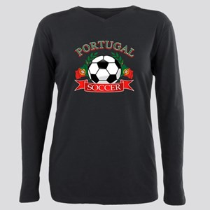 Portugal soccer Plus Size Long Sleeve Tee