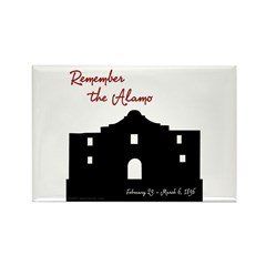 Remember the Alamo Rectangle Magnet (10 pack)