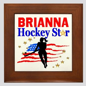 FIELD HOCKEY Framed Tile