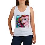Abstract Woman Tank Top
