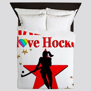 FIELD HOCKEY Queen Duvet