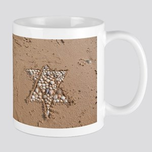 star on beach Mugs