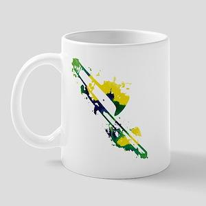 Paint Splat Trombone Mug