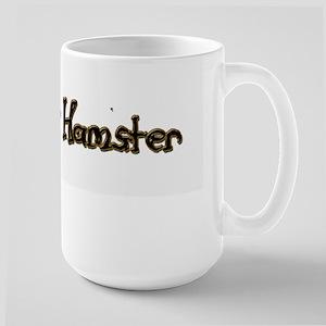I Love my Hamster Large Mug