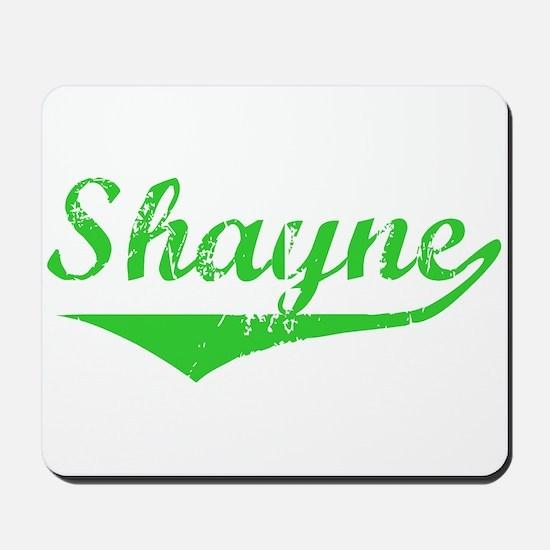 Shayne Vintage (Green) Mousepad