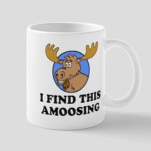 I Find This Amoosing Moose Pun Mugs