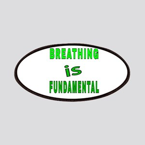 Breathing is fundamental Patch
