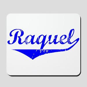 Raquel Vintage (Blue) Mousepad