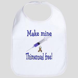 Make mine Thimerosal free Bib